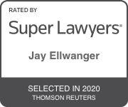 RATED BY Super Lawyers Jay Ellwanger SELECTED IN 2020 THOMSON REUTERS
